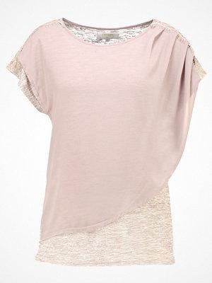 Cream KENZA Tshirt med tryck gray morn