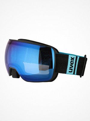 Skidglasögon - Uvex UVEX COMPACT FM  Skidglasögon black/blue