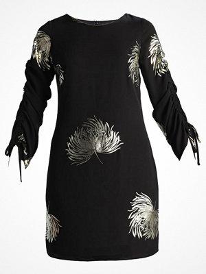 Dorothy Perkins FOIL PRINT SHIFT Sommarklänning black