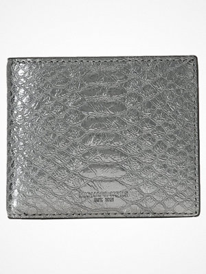 Plånböcker - Michael Kors BRYANT ROCKERBILLFOLD Plånbok nickel