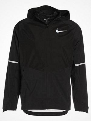 Nike Performance ZONAL AEROSHIELD  Löparjacka black/black/metallic silver