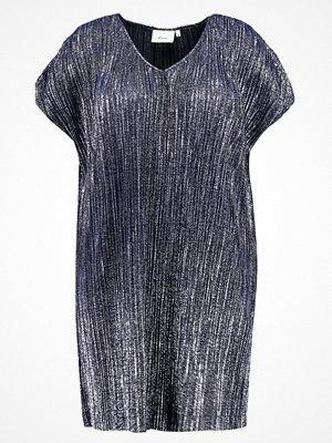 Zizzi Sommarklänning dark blue, silver