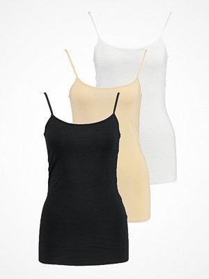 Zalando Essentials 3 PACK Linne black/white/nude