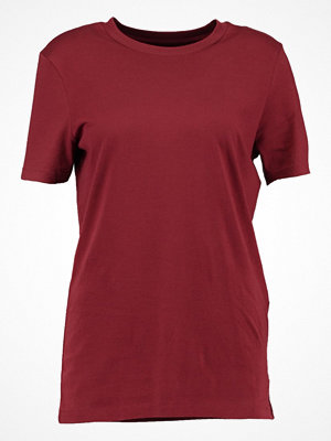 Selected Femme SFMY PERFECT  Tshirt bas dark red