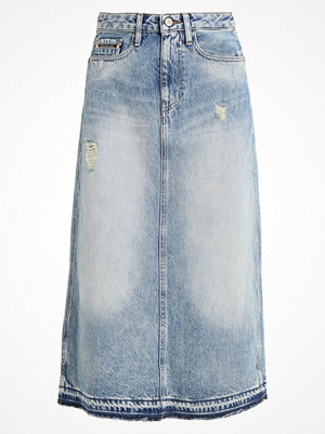 Calvin Klein Jeans MIDI SKIRT Maxikjol tron blue des