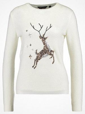 Dorothy Perkins SEQUIN REINDEER  Stickad tröja cream