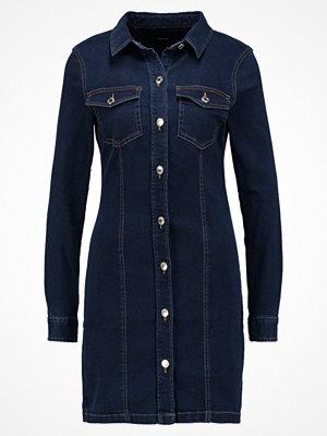 Vero Moda VMJACKIE SHORT DRESS Fodralklänning dark blue denim