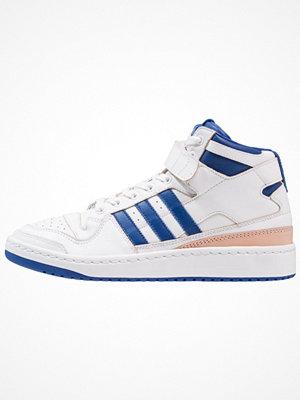 Adidas Originals FORUM MID (WRAP) Höga sneakers footwear white/collegiate royal