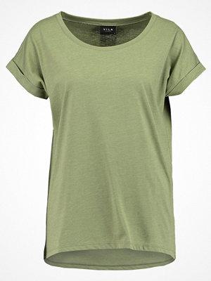 Vila VIDREAMERS PURE Tshirt bas olivine/melange