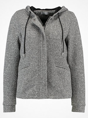 Jdy JDYBESTY SHORT HOOD JACKET Tunn jacka light grey melange