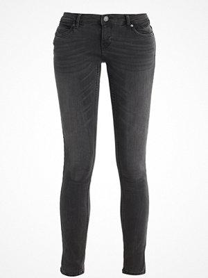 Vero Moda VMFIVE CONTRAST Jeans slim fit dark grey denim