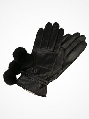 Handskar & vantar - UGG BRITA SMART GLOVE WITH POMS Fingervantar black