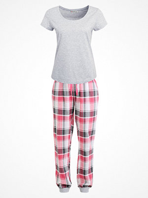 Even&Odd SET Pyjamas grey/red