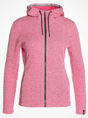 Sportjackor - Colmar FULL ZIP HOODIE Fleecejacka frozen berry/white
