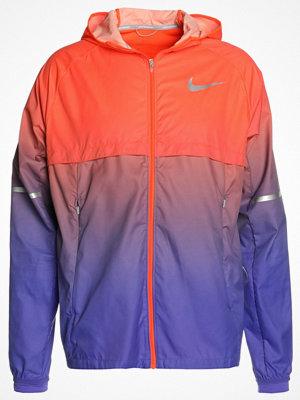 Nike Performance SHIELD HOODED Löparjacka persian violet/hyper crimson/reflective silver