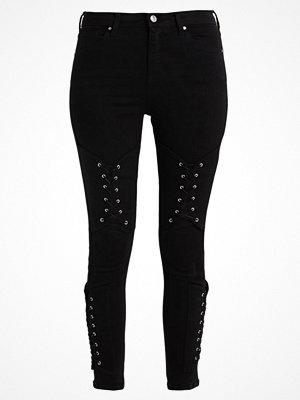Topshop CORSET KNEE JAMIE  Jeans Skinny Fit black