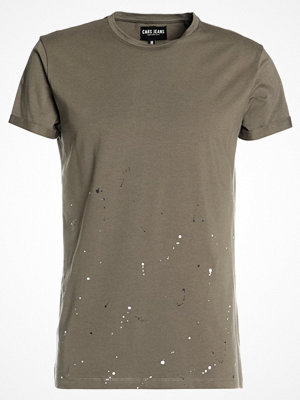 Cars Jeans BARRY SPOT Tshirt med tryck army