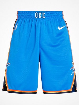 Sportkläder - Nike Performance OKLAHOMA CITY THUNDER SHORT ROAD Träningsshorts signal blue/college navy/white