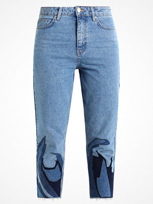 Topshop FLAME APP MOM Jeans relaxed fit blue