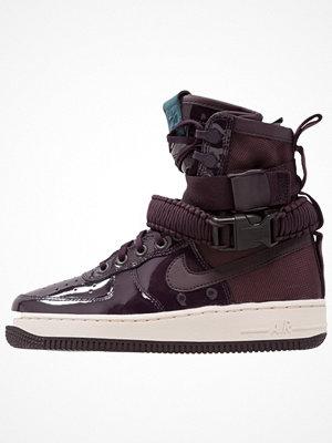 Nike Sportswear SF AF1 SE PRM Höga sneakers port wine/space blue