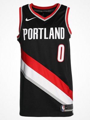 Sportkläder - Nike Performance PORTLAND TRAIL BLAZERS ROAD Klubbkläder black/lillard damian