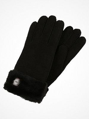 Handskar & vantar - UGG CLASSIC TURN CUFF GLOVE Fingervantar black