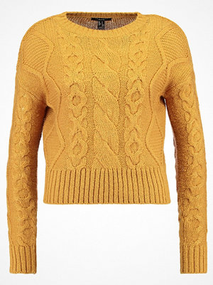 New Look Petite P CABLE JUMPER Stickad tröja bright yellow
