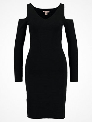 Anna Field Stickad klänning black