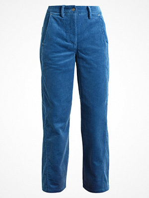 Finery London CHAD TROUSERS Tygbyxor blue omönstrade