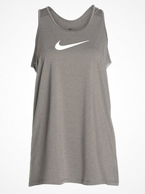 Nike Performance TANK EXT Funktionströja carbon heather/white