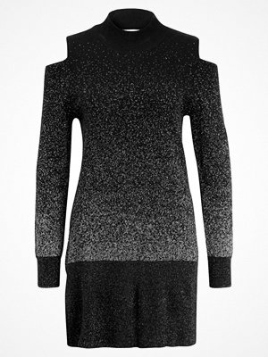 Anna Field Stickad tröja black/silver