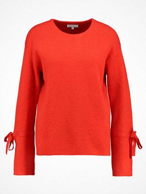 Warehouse SPLIT BOW CUFF MILANO JUMPER Stickad tröja red