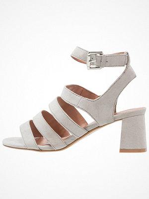 Topshop DEENA MULTI STRAP  Sandaler & sandaletter grey