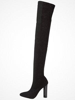 BEBO STELLA Klassiska stövlar black shimmer