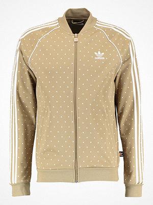 Sportjackor - Adidas Originals Träningsjacka hemp/white