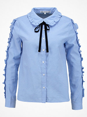 English Factory RUFFLE DETAIL Skjorta dusty blue
