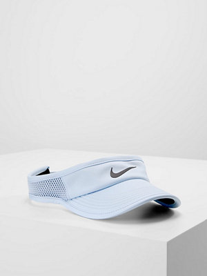 Kepsar - Nike Performance WOMEN AEROBILL FEATHERLIGHT VISOR ADJUSTABLE Keps hydrogen blue