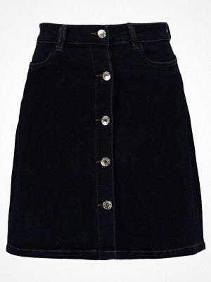 Vero Moda VMMAYA SKIRT  Jeanskjol dark blue denim