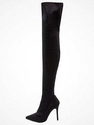 Topshop BELLINI SOCK BOOT Klassiska stövlar black