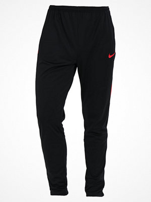Nike Performance ACADEMY Träningsbyxor black/black/university red