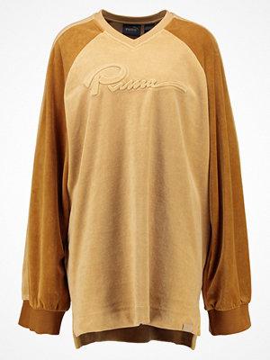 Fenty PUMA by Rihanna OVERSIZED VNECK Sweatshirt lark/golden brown
