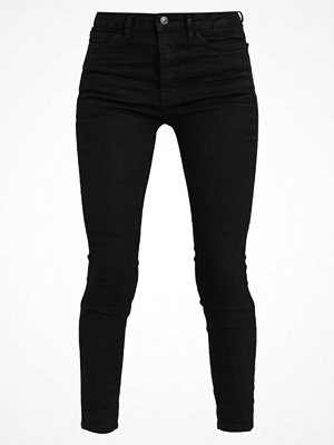 Tom Tailor Denim JANNA PANTS Jeans slim fit coated black denim