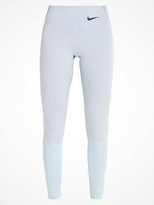 Nike Performance LEGENDARY MID RISE PRINT Tights pure platinum/heather/glacier blue/black