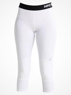 Nike Performance DRY Träningsshorts 3/4längd white/black