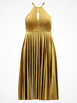 Endless Rose STRAPPY PLEATED DRESS Cocktailklänning golden yellow