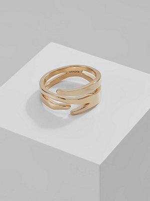 Kenzo Ringar goldcoloured