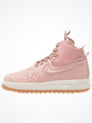 Nike Sportswear LUNAR FORCE 1 DUCKBOOT Höga sneakers particle pink/black/pale grey/med brown/white