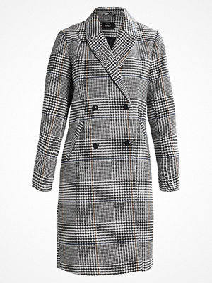 Only ONLLOUISIANNA CHECK COAT  Kappa / rock white/black