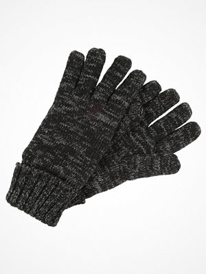 Handskar & vantar - Superdry STOCKHOLM GLOVE Fingervantar black/dark charcoal twist
