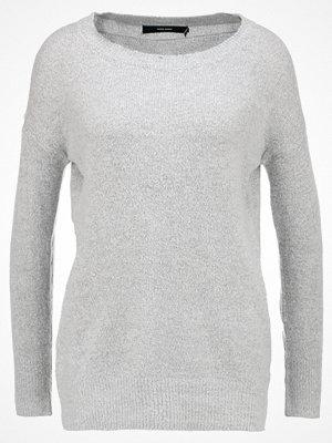 Vero Moda VMNEOMA  Stickad tröja light grey melange